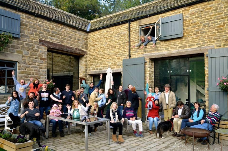 Shooting Lodge Large Group accommodation Edale Gathering Pennine Way