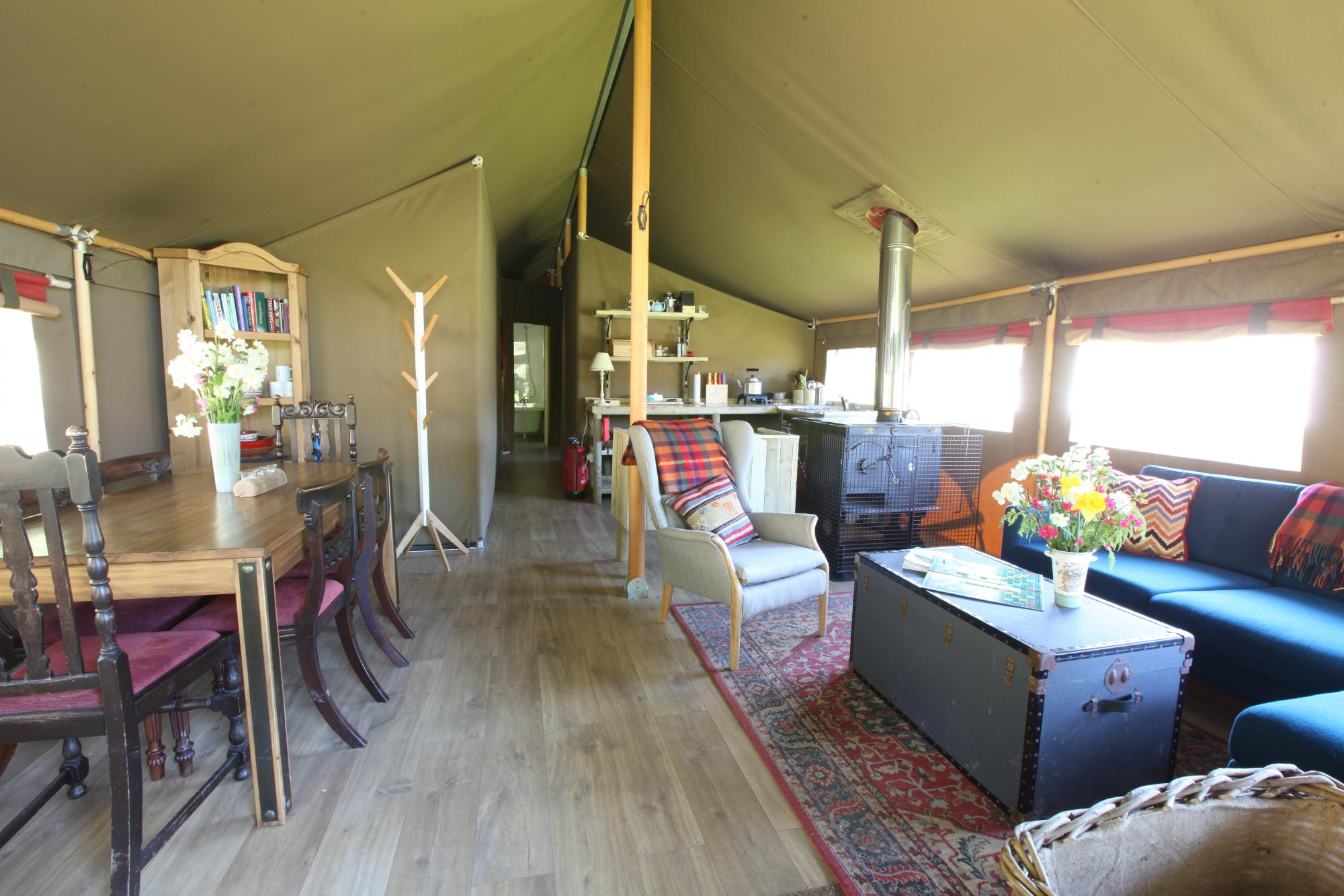 Tented Safari Lodges The Gathering Edale