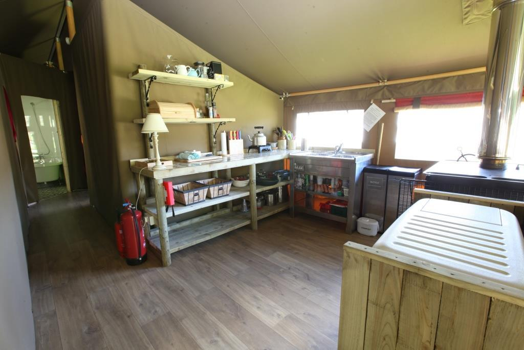 Glamping Hospitality Services at Edale Gathering
