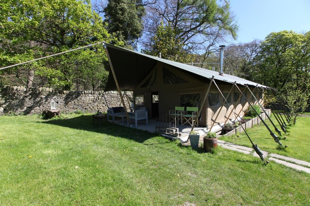 Tented Safari Glamping Lodge at Edale Gathering