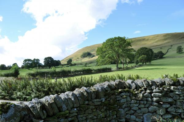View from Edale Gathering Glamping Tent