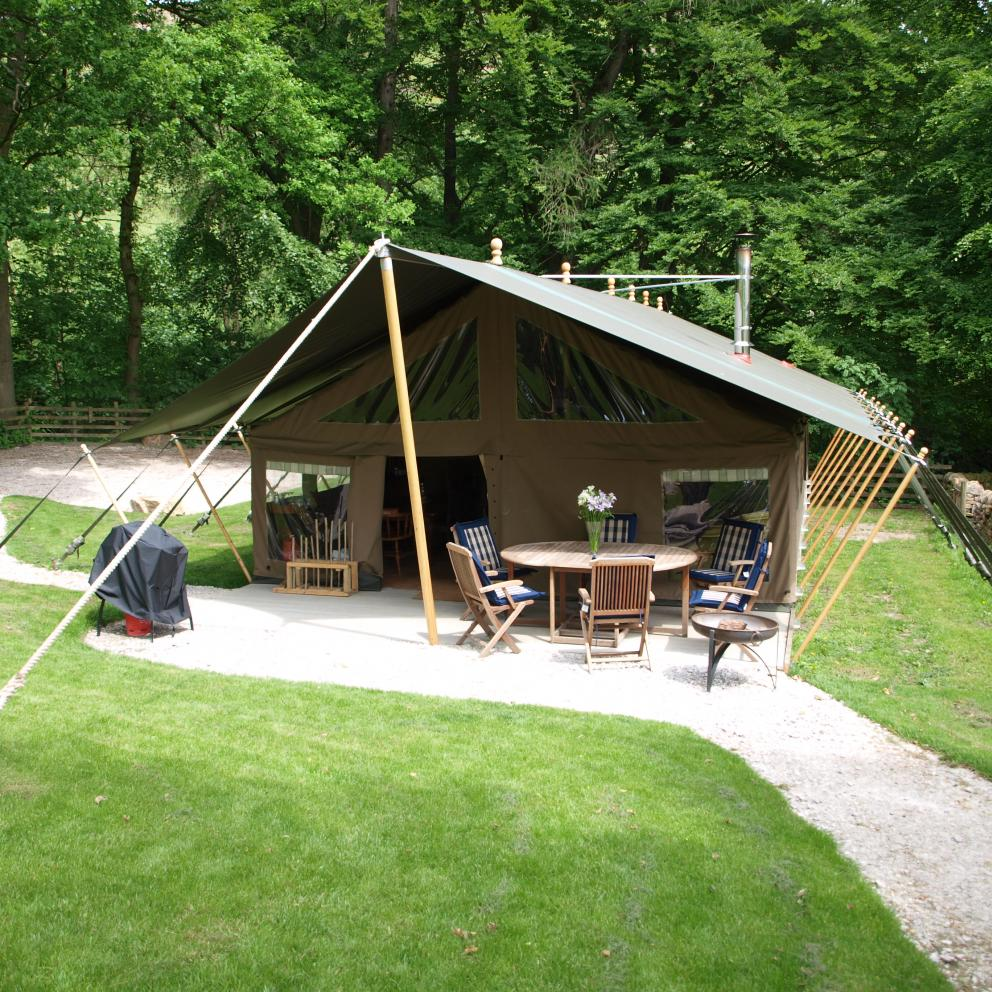 Safari Tents Glamping Peak District