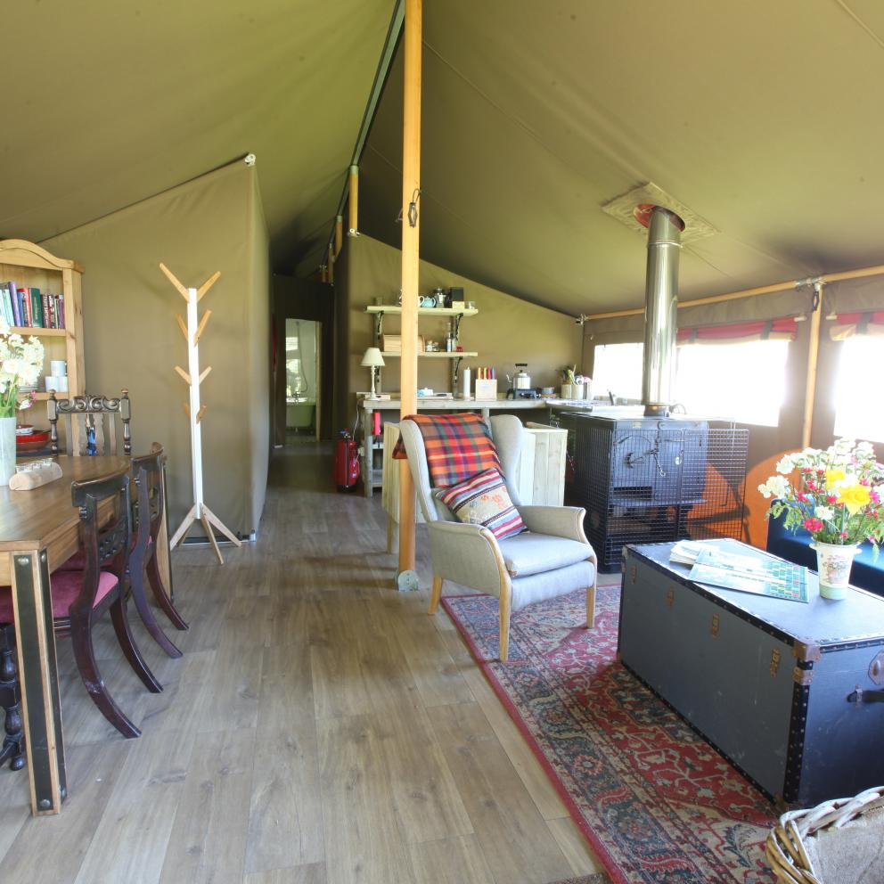 Glamping Accommodation in The Peak District