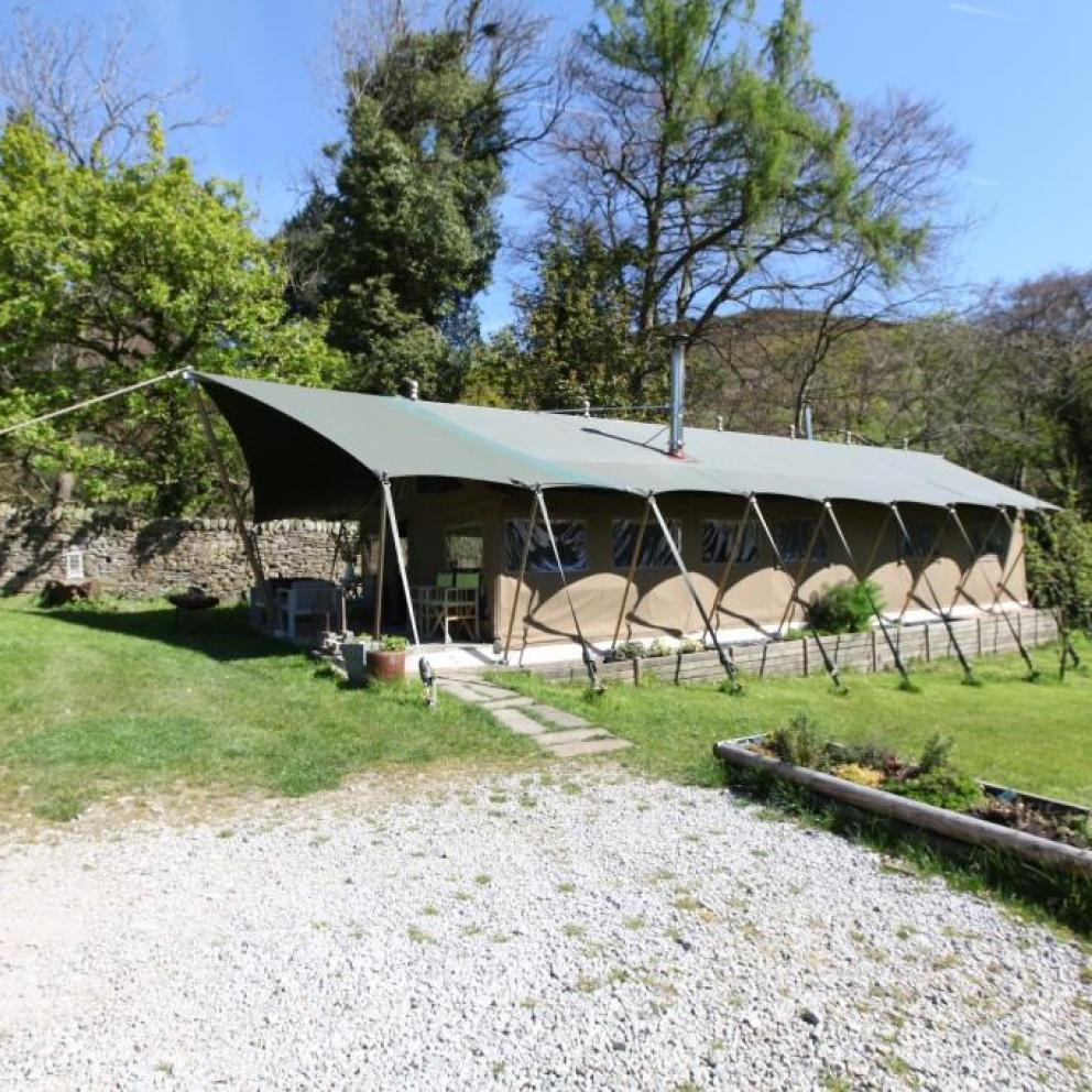 Safari Tent Accommodation in the Peak District