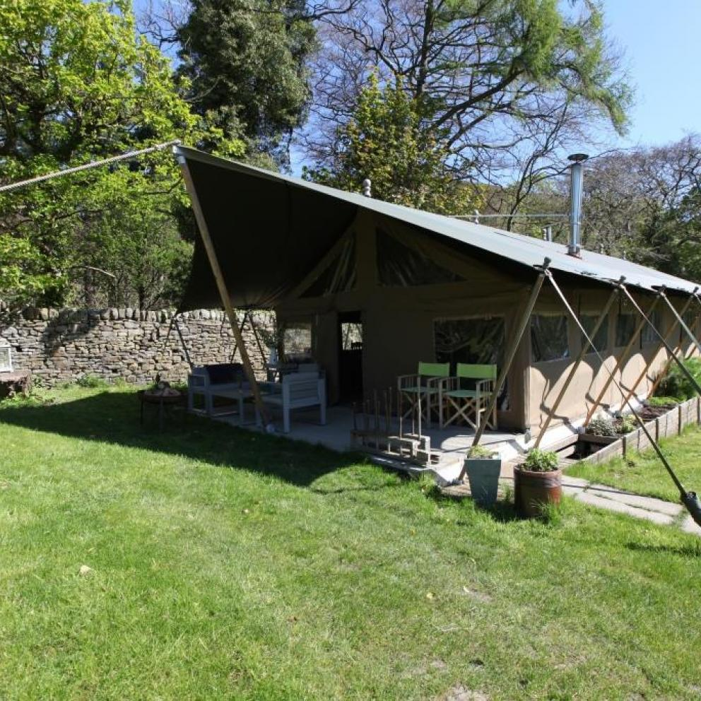 Glamping Lodge Edale